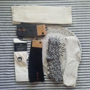 Boot Sock, Leg Warmer Bundle